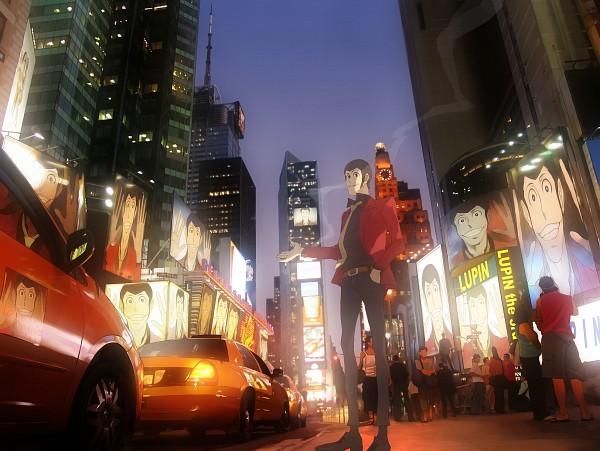 Tags: Anime, Pixiv Id 558066, Lupin III, Arsene Lupin III, Taxi, Pixiv, Fanart