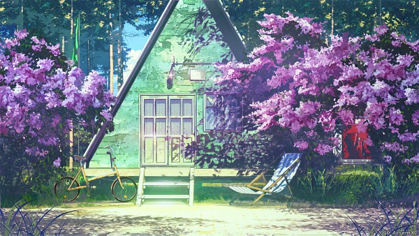 Tags: Anime, ArseniXC, Everlasting Summer, No Character, Russian, Facebook Cover, Pixiv, Original