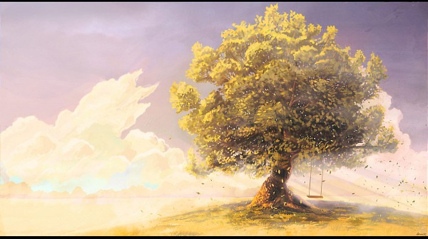 Tags: Anime, ArseniXC, Peaceful, No Character, Pixiv, Facebook Cover, Original
