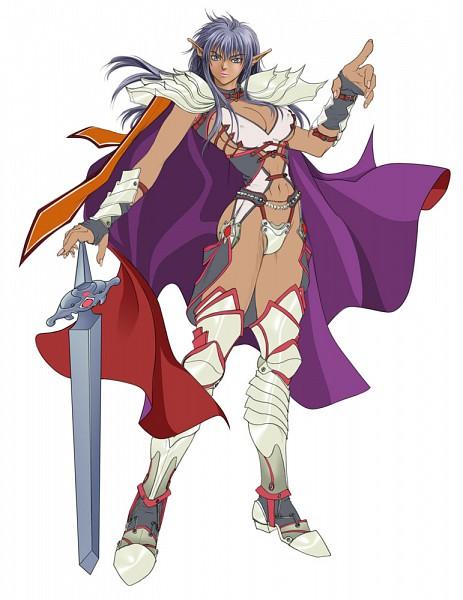 Tags: Anime, Kazushi Hagiwara, BASTARD!!, Arshers Nei, Bikini Armor