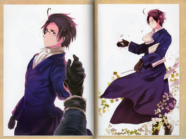 Tags: Anime, Himaruya Hidekaz, Studio DEEN, Axis Powers: Hetalia, ArteStella, Austria, Scan, Official Art