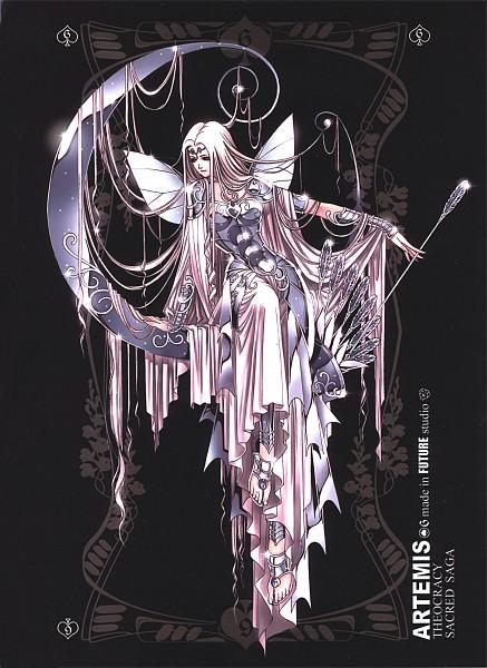 Tags: Anime, Future Studio, Saint Seiya, Sacred Saga, Artemis (Saint Seiya), Mobile Wallpaper