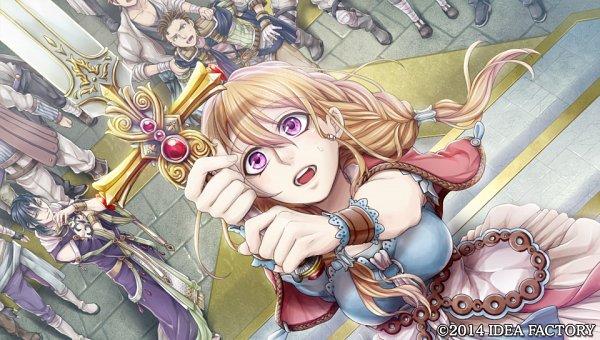 Tags: Anime, Higashi Yuuhi, IDEA FACTORY, Otomate, Princess Arthur, Aru (Princess Arthur), CG Art, Official Art