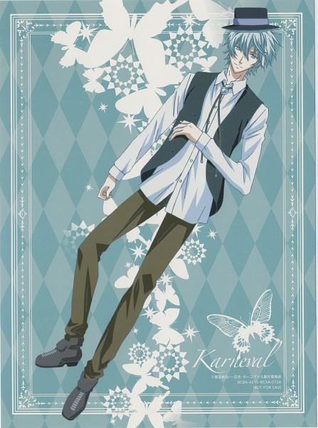 Tags: Anime, Mikanagi Touya, manglobe, Karneval, Arumerita Karoku, Official Art, Scan, DVD (Source)