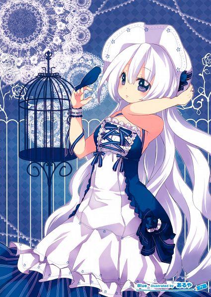 Tags: Anime, Aruya, Girls Girls Girls! 8 -Colorful Girls-, Pixiv, Scan, Mobile Wallpaper