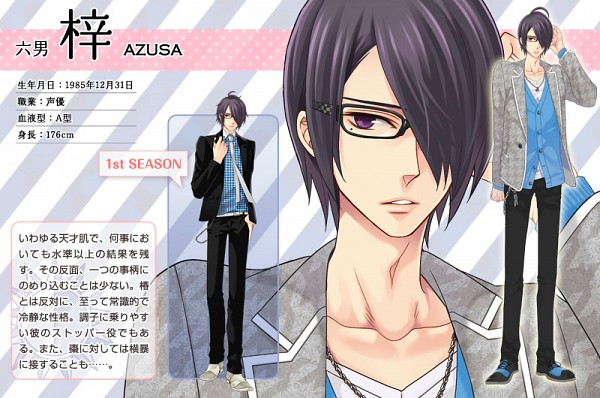 Tags: Anime, Udajo, IDEA FACTORY, BROTHERS CONFLICT, Asahina Azusa, Official Character Information, Official Art