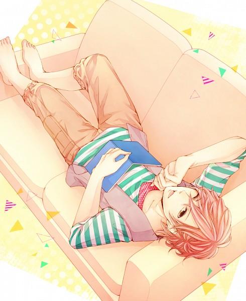 Tags: Anime, Wakatsuki Yuuki, BROTHERS CONFLICT, Asahina Futo, Laying on Couch, Pixiv, Fanart, Fanart From Pixiv