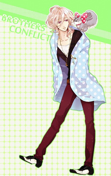Tags: Anime, Pixiv Id 1380680, BROTHERS CONFLICT, Juli (Brothers Conflict), Asahina Louis, Mobile Wallpaper, Pixiv, Fanart
