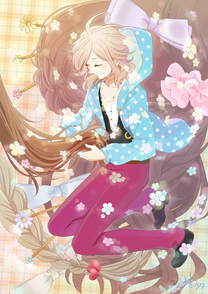 Tags: Anime, Kanno Miiyu, BROTHERS CONFLICT, Asahina Louis, Fanart, Fanart From Pixiv, Mobile Wallpaper, Pixiv
