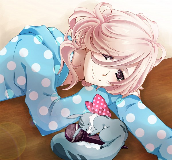 Tags: Anime, Pixiv Id 219378, BROTHERS CONFLICT, Juli (Brothers Conflict), Asahina Louis, Spotted Shirt, Spotted Bow, Fanart, Fanart From Pixiv, Pixiv