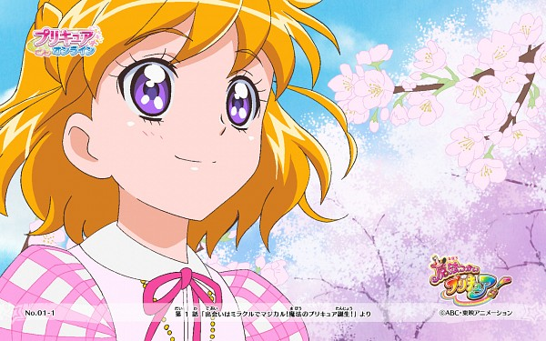 Tags: Anime, Toei Animation, Mahou Tsukai Precure!, Asahina Mirai, Official Art, Official Wallpaper, Wallpaper