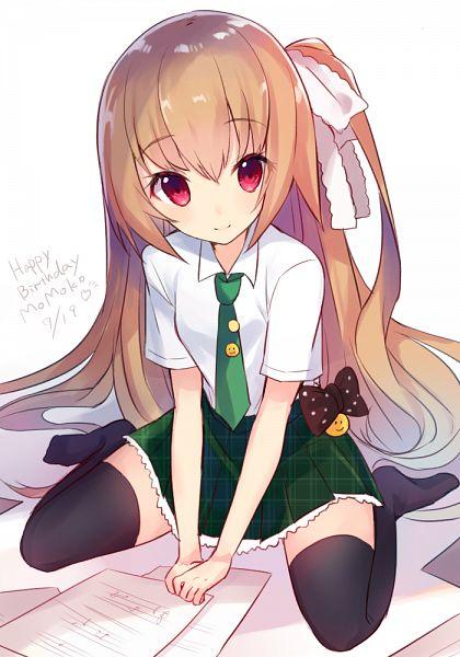 Tags: Anime, Pixiv Id 613685, Girlfriend (Kari), Asahina Momoko, PNG Conversion, Mobile Wallpaper