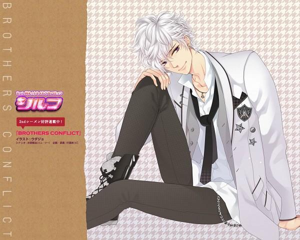 Tags: Anime, Udajo, IDEA FACTORY, BROTHERS CONFLICT, Asahina Tsubaki, Official Wallpaper, Wallpaper, Official Art
