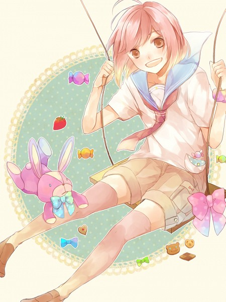Tags: Anime, Pixiv Id 2962647, BROTHERS CONFLICT, Asahina Wataru, Swing, Fanart, Fanart From Pixiv, PNG Conversion, Pixiv