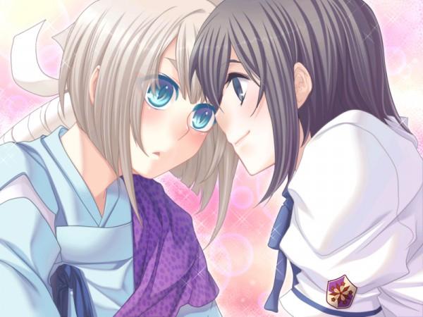 Tags: Anime, Asaki Yume Mishi, Iori Saya, Giou, CG Art