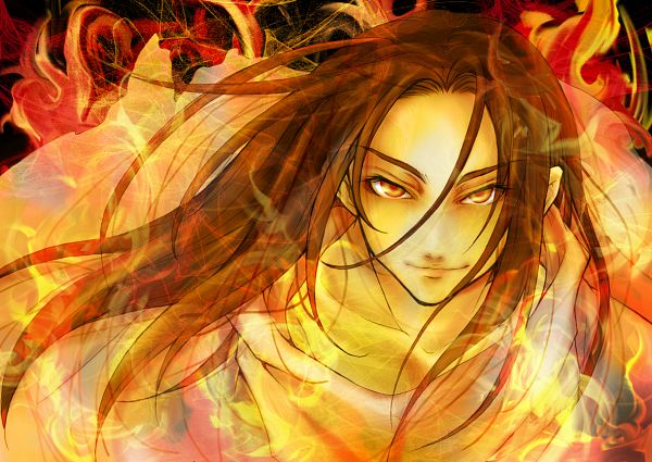 Tags: Anime, M.Hiduki, Shaman King, Asakura Hao, Fanart, Pixiv