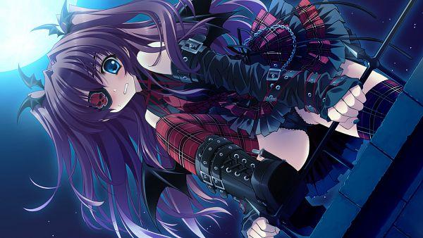 Tags: Anime, Cube (ALMA), ALMA (Studio), Kimi to Boku to Eden no Ringo, Asakura Karen, Punk Lolita, Wallpaper, CG Art