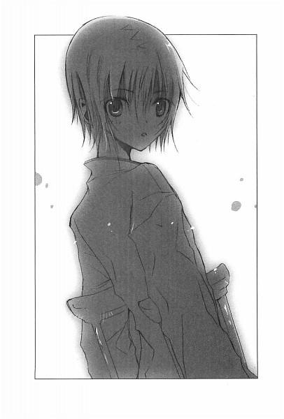 Tags: Anime, Takeoka Miho, Bungaku Shoujo, Asakura Miu, Novel Illustration, Scan, Official Art
