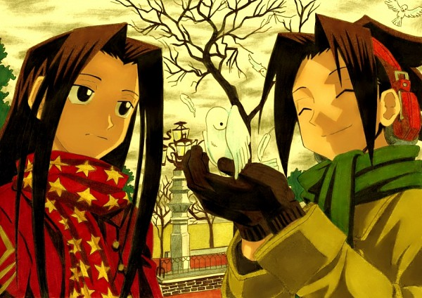 Tags: Anime, Shaman King, Asakura Yoh, Asakura Hao, Artist Request, deviantART, Asakura Twins