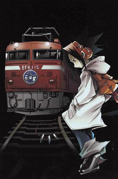 Tags: Anime, Hiroyuki Takei, Shaman King, Asakura Yoh, Mobile Wallpaper, Official Art