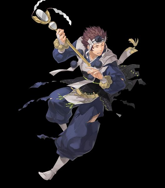 Tags: Anime, Okaya, Intelligent Systems, Fire Emblem Heroes, Asama (Fire Emblem), Official Art, Azama (fire Emblem)