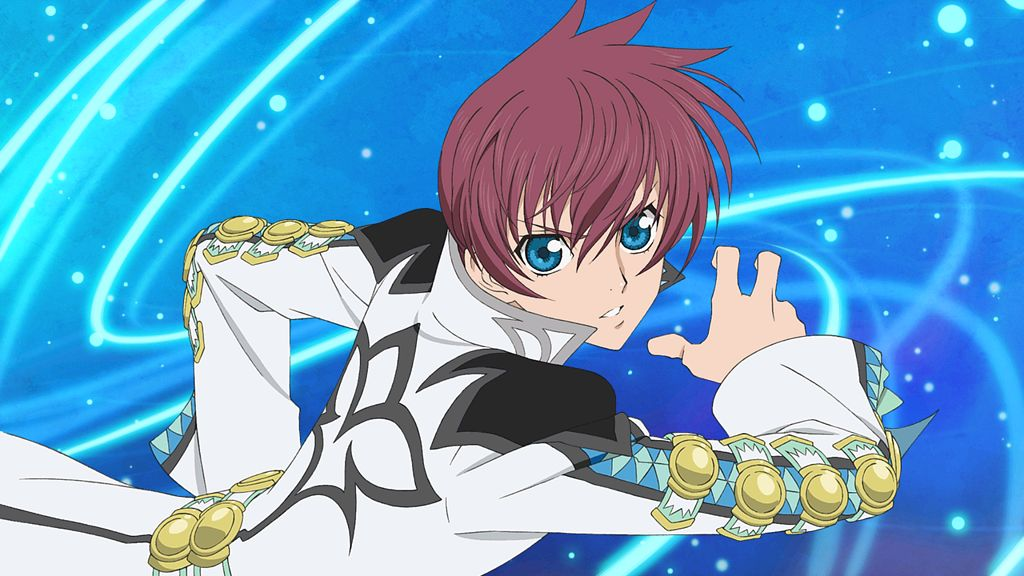 Tags: Anime, Bandai Namco Entertainment, Tales of the Rays, Asbel Lhant, Official Art