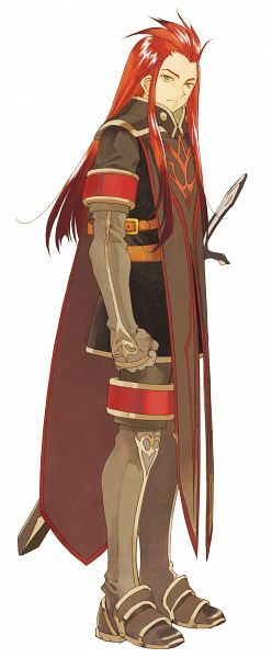 Tags: Anime, Fujishima Kousuke, Tales of the Abyss, Asch the Bloody, Scan, Official Art
