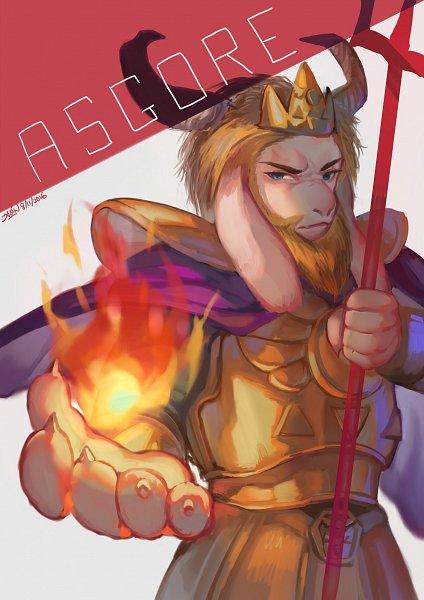 Tags: Anime, Clivef, Undertale, Asgore Dreemurr