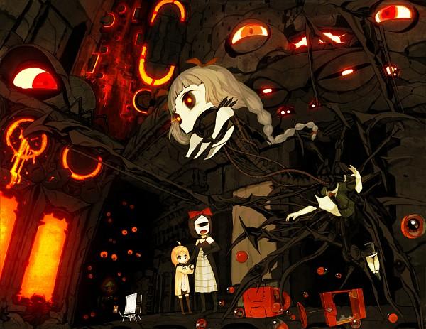 Tags: Anime, Asgr, Futuristic Theme, Cyclops, Pixiv, Original