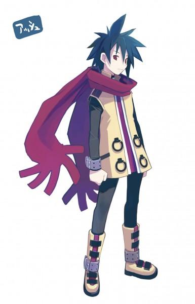 Tags: Anime, Harada Takehito, Nippon Ichi Software, Phantom Brave, Ash (Phantom Brave), Official Art