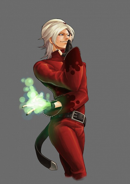 Tags: Anime, Evilgun (Magaka), SNK Playmore, The King of Fighters, Ash Crimson, Green Flame