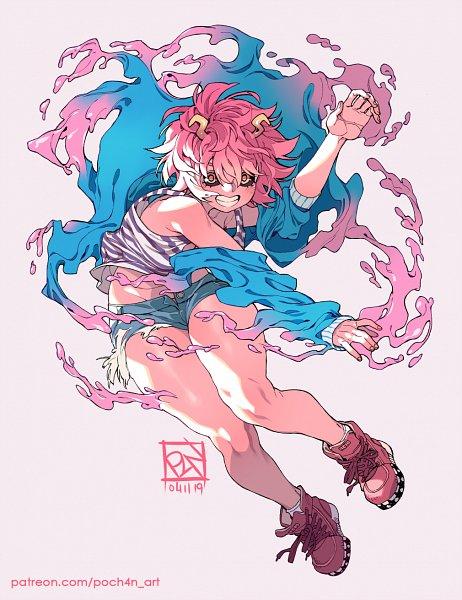 Tags: Anime, Poch4n, Boku no Hero Academia, Ashido Mina