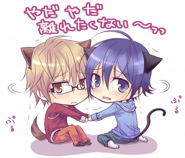 Tags: Anime, Seren (Seresere), Bakuman。, Takagi Akito, Mashiro Moritaka, Ashirogi Muto