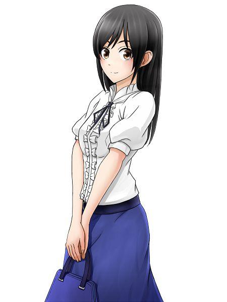 Tags: Anime, Pixiv Id 6497631, Mangaka-san to Assistant-san to, Ashisu Sahoto, PNG Conversion