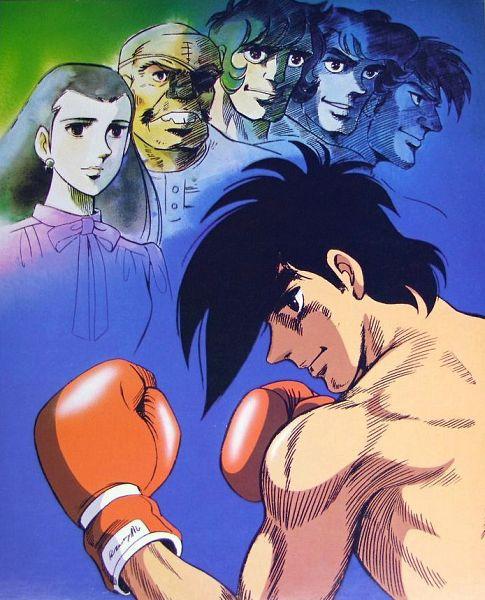 Tags: Anime, Akio Sugino, Ashita no Joe, Tange Danpei, Shiraki Yuko, Yabuki Joe, Kim Yongbi, Carlos Rivera, Tooru Rikiishi