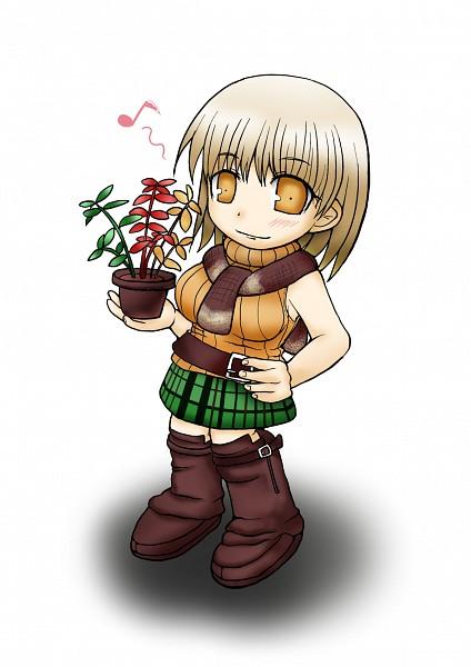 Tags: Anime, Pixiv Id 2514792, Resident Evil, Resident Evil 4, Ashley Graham, Vase, Pixiv, Fanart From Pixiv, Fanart