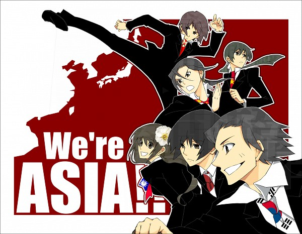 Asian Countries - Axis Powers: Hetalia