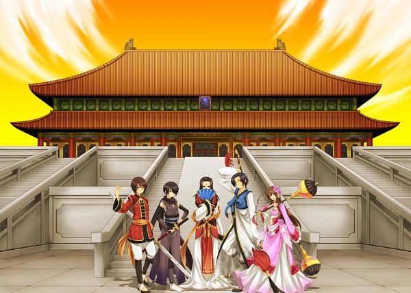 Tags: Anime, Pixiv Id 2666947, Axis Powers: Hetalia, Dynasty Warriors Strikeforce, Dynasty Warriors, China, Hong Kong, Japan, South Korea, Taiwan, Hetaquest, Pixiv, Asian Countries