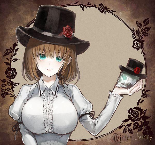 Tags: Anime, Kuroiwa Madoka, Fate/Grand Order, Assassin (Charlotte Corday), Fanart From Pixiv, Pixiv, Fanart