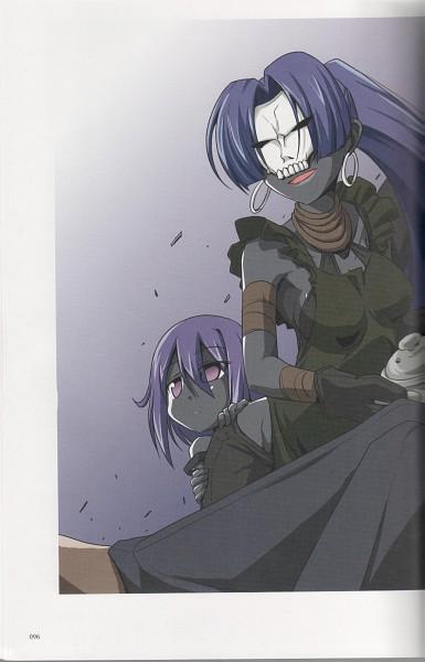 Tags: Anime, TYPE-MOON, Fate/zero, Fate/Zero Tribute Arts, Assassin (Fate/zero), Scan, Artist Request