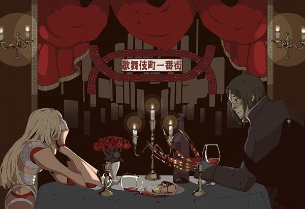 Tags: Anime, Pixiv Id 10375959, Fate/Grand Order, Assassin (Phantom of the Opera), Pixiv, Fanart, Fanart From Pixiv