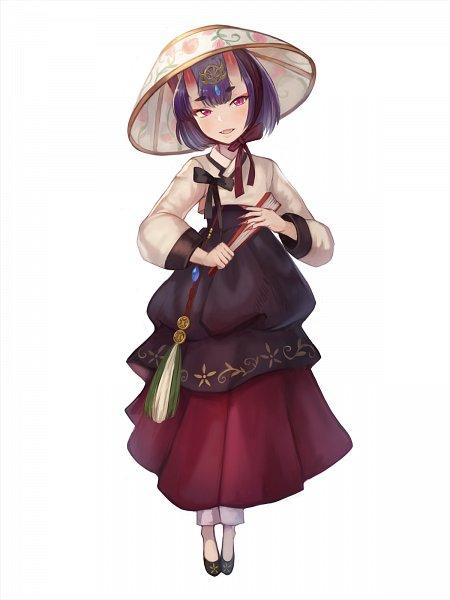 Tags: Anime, Sookmo, Fate/Grand Order, Assassin (Shuten-douji), Korean Clothes, Hanbok, Fanart, Fanart From Pixiv, Pixiv