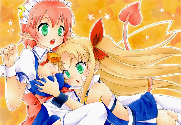 Tags: Anime, Sorane Rin, Astarotte no Omocha!, Elfleda Mirjasdottir, Astarotte Ygvar, Lotte's Toy