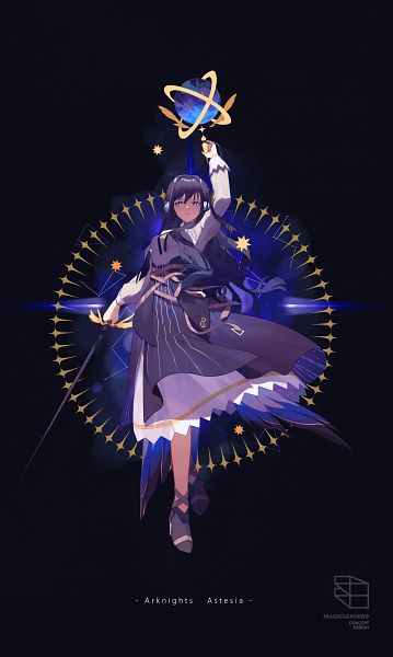 Tags: Anime, Pixiv Id 8570823, Arknights, Astesia