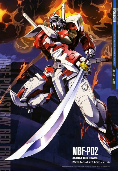 Astray Red Frame - Mobile Suit Gundam SEED