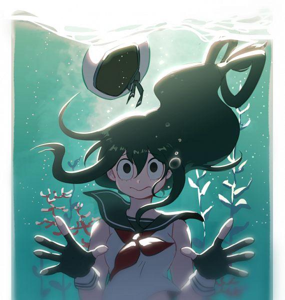 Tags: Anime, IMJAYU, Boku no Hero Academia, Asui Tsuyu, Pixiv, Fanart, Fanart From Pixiv