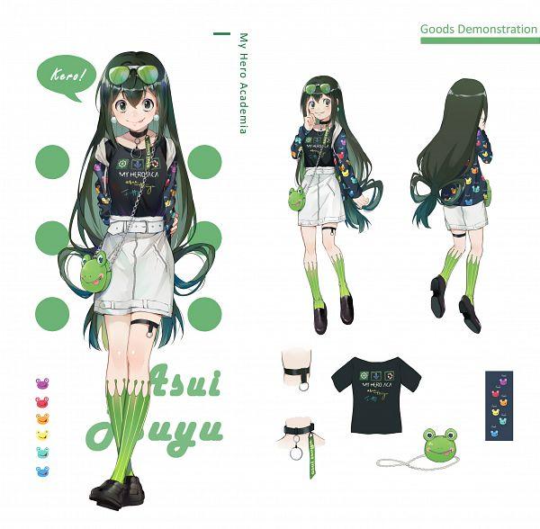 Tags: Anime, Ekita_Kuro, Boku no Hero Academia, Asui Tsuyu, Fanart From Pixiv, Pixiv, Fanart