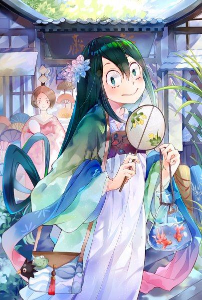 Tags: Anime, Pixiv Id 7405260, Boku no Hero Academia, Asui Tsuyu, Fanart From Pixiv, Pixiv, Fanart