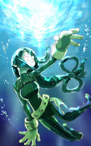 Tags: Anime, Kaazu, Boku no Hero Academia, Asui Tsuyu, Fanart, Fanart From Pixiv, Pixiv