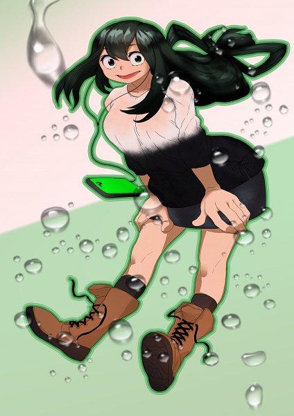 Tags: Anime, Pixiv Id 20020065, Boku no Hero Academia, Asui Tsuyu